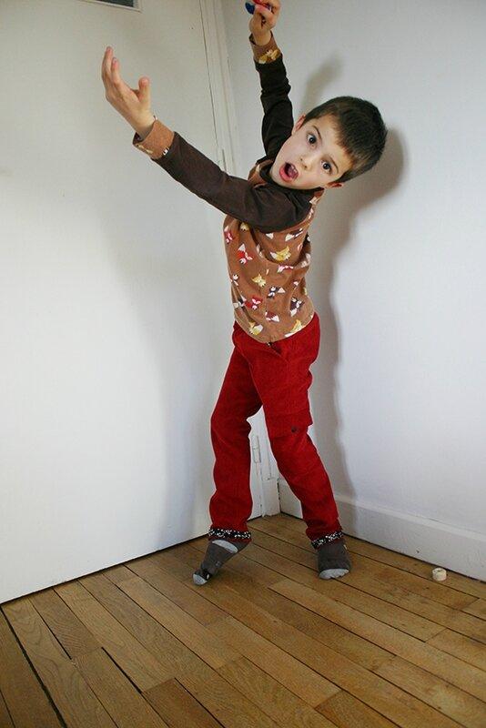 pantalon rouge8