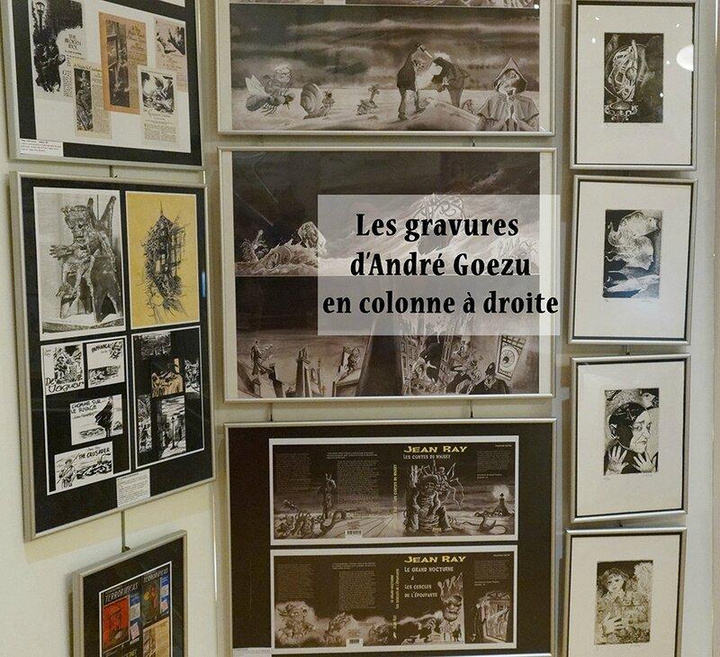 extrait de l'exposition Jean Ray John Flanders à la médiathèque de Sèvres