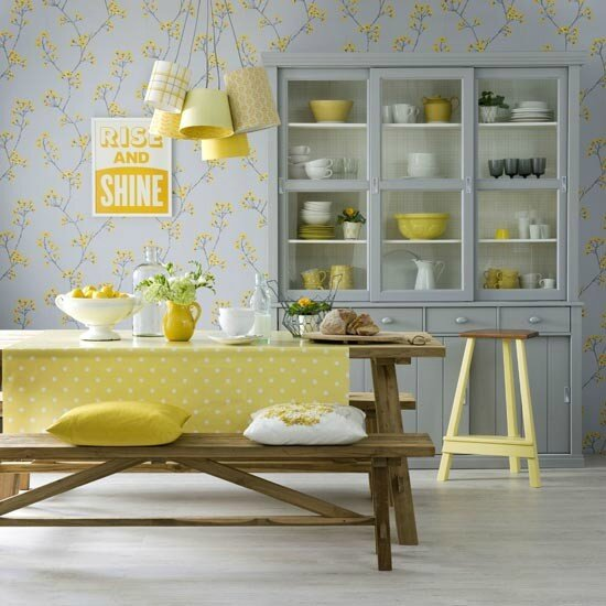 Sunny-yellow-kitchen-diner-Ideal-Home-housetohome
