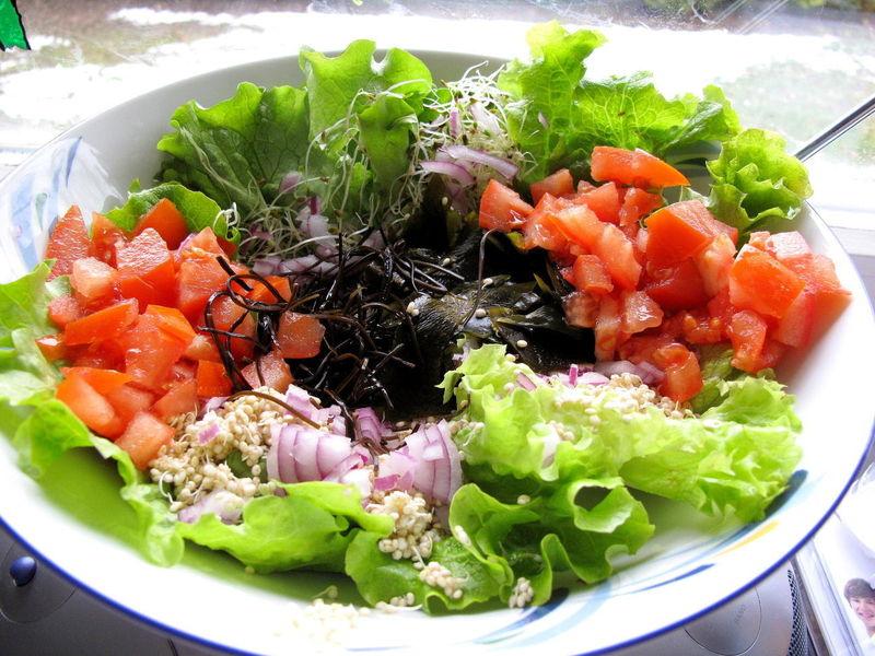Salade d 39 hiver avocat quinoa nanoune devient v g tarienne - Salade d hiver variete ...