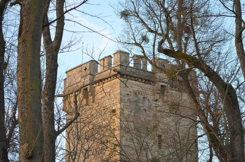 La tour de l'Aubespin - Parc Buffon - 21500 Montbard
