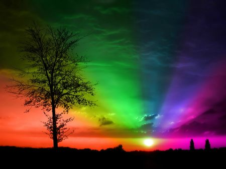 sunset_rainbow_wallpaper_by_muckieh-d45uyzp