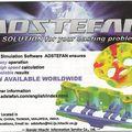 Commercialisation de adstefan, logiciel de simulation de fonderie sur le marché mondial