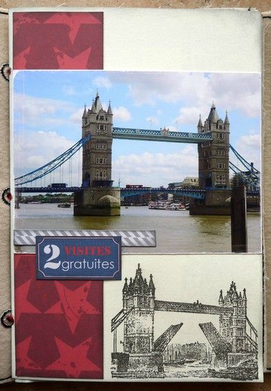 mini album Londres page 1