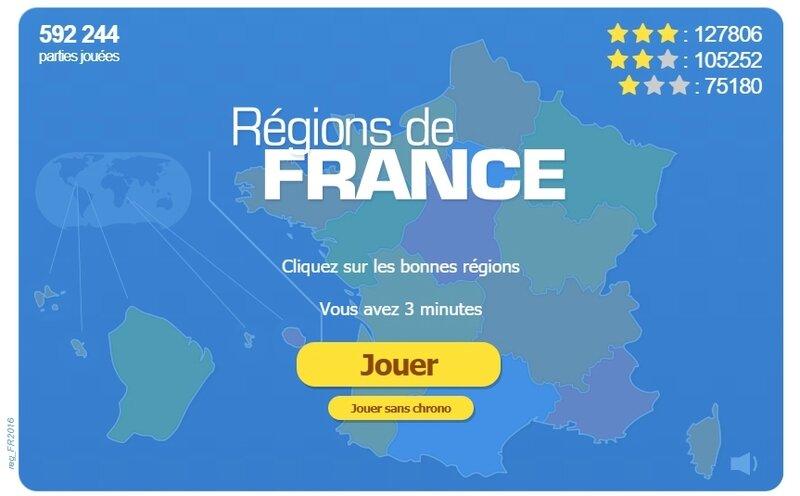 Les régions 2017