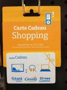 Changer Nom Carte Géant Casino