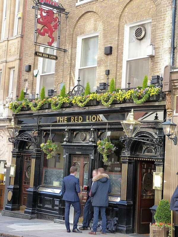 THE RED LION JERMYN