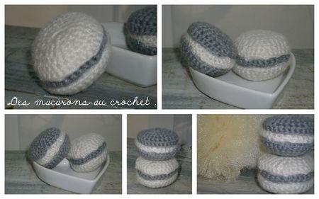 macarons crochet