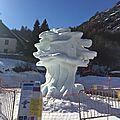Concours de sculptures sur neige #1
