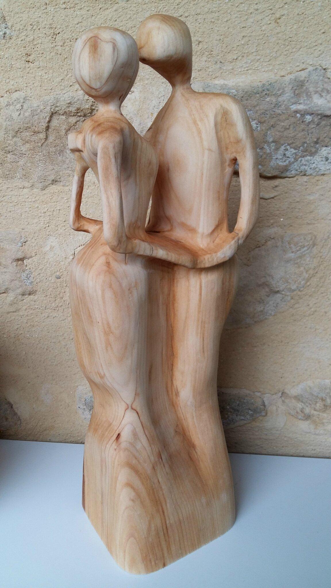 Une jolie parenthèse de boiserie, la sculpture sur bois