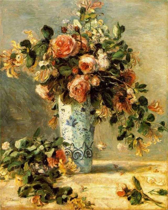Roses et jasmin (Renoir)