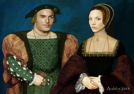Jonathan et Natalie en costume Henri VIII