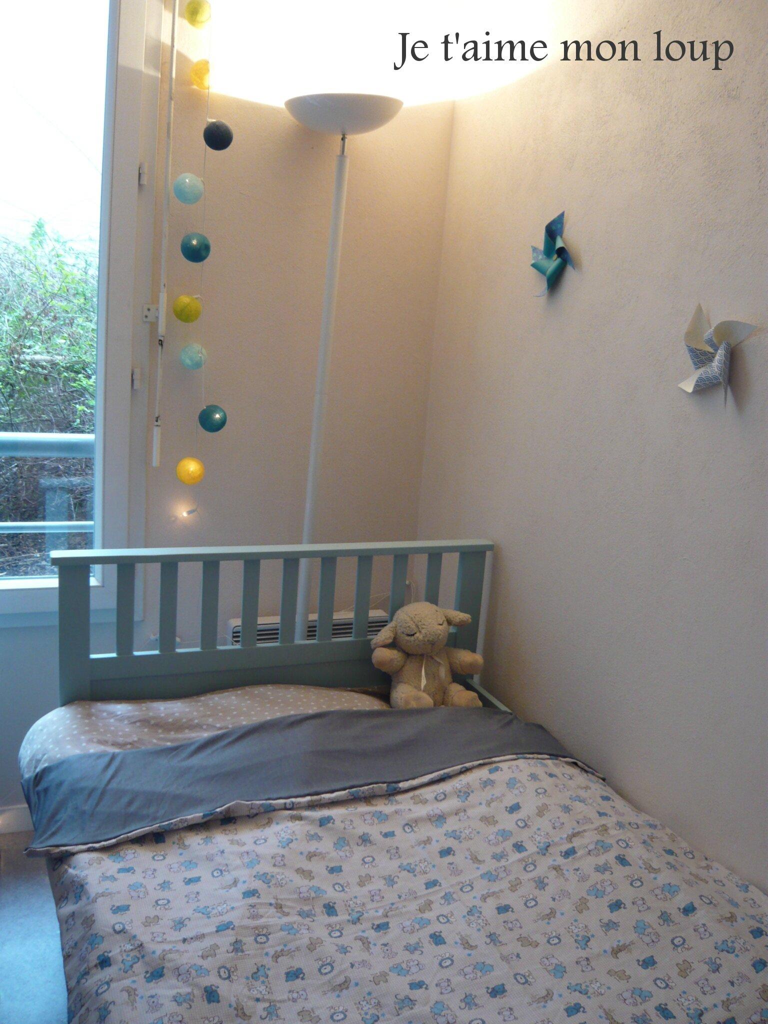 la housse de couette vite fait bien faite je t 39 aime mon loup. Black Bedroom Furniture Sets. Home Design Ideas