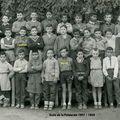 École de la palmeraie 1957-58