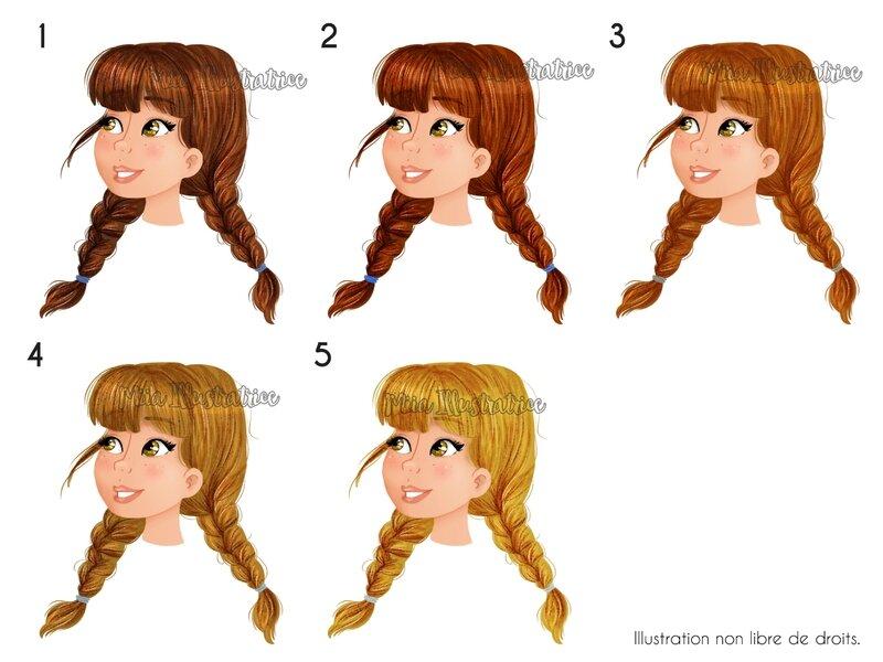 Cheveux Anna