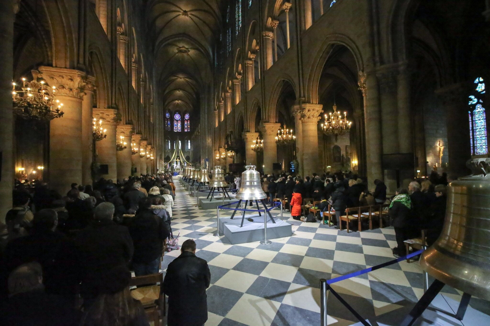 De nouvelles cloches pour Notre-Dame de Paris. © Photo Michel Stoupak. Dim 10.02.2013, 13:26.