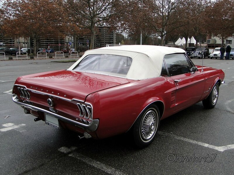 ford mustang hardtop coupe 1967 b