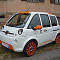 Mia electric mia miamore voiture électrique 2013