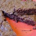 Brownies au chocolat, amande et praliné