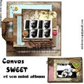 Canva sweet et son mini album 28.90 port compris