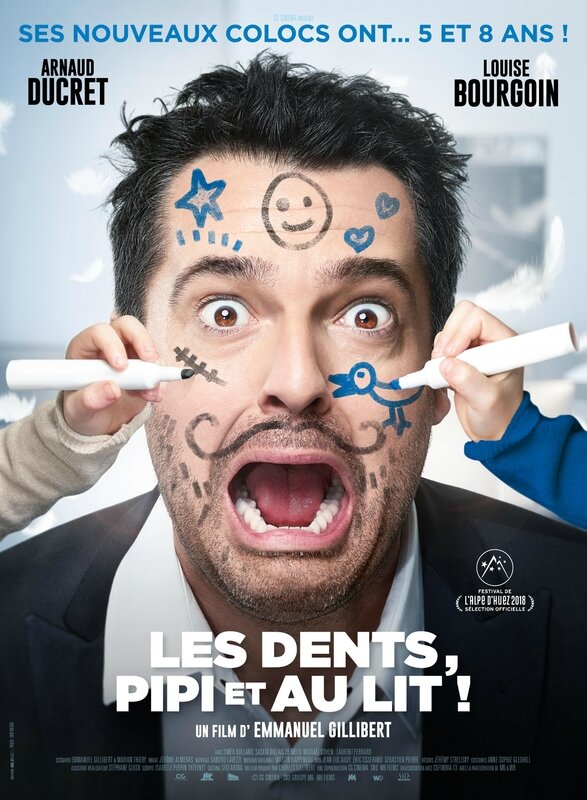Les dents pipi au lit ! - Affiche Officielle
