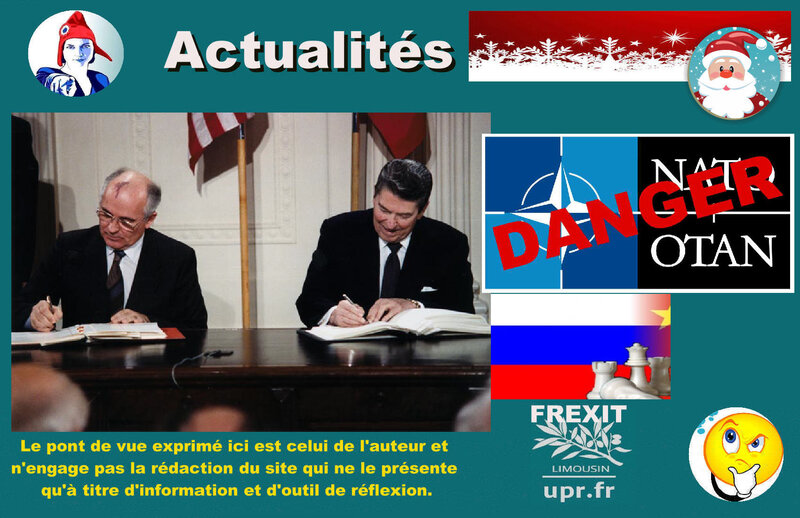 ACT OTAN GORBATCHEV REAGAN