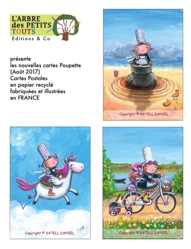 2017 new cartes poupette