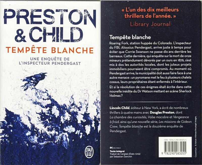 Tempête blanche - Preston & Child