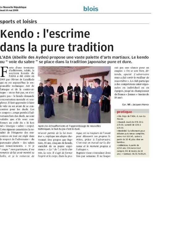 NR-article 14 05 2009 - 2