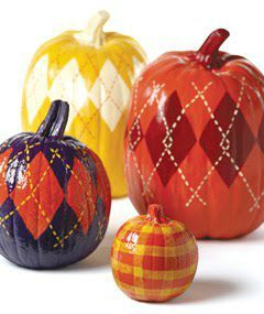 painted pumpkins country sampler mag