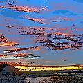 Le coucher du soleil à barfleur (manche) le 4 août 2017 (4)