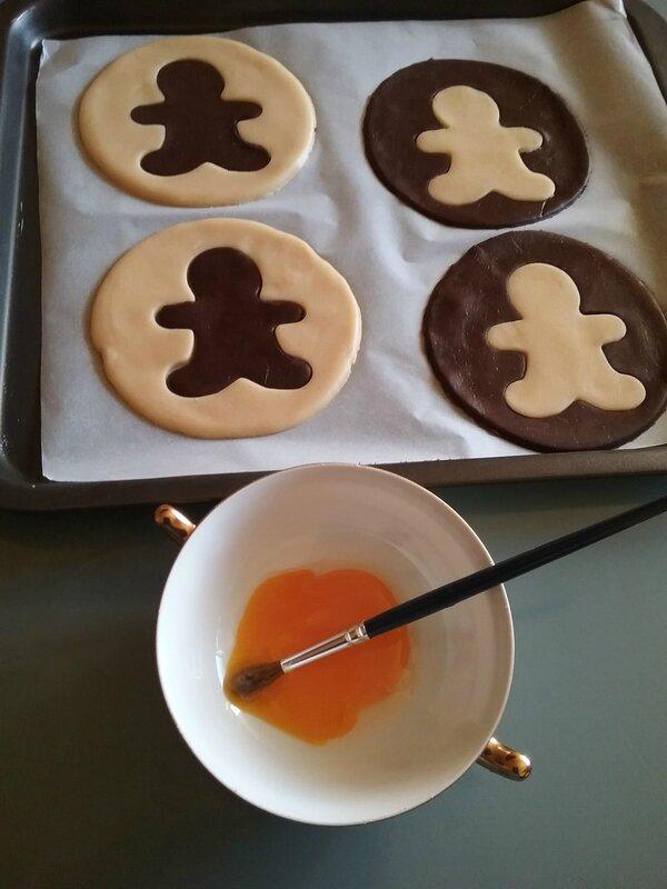Biscuits Bonhomme vanille chocolat 039