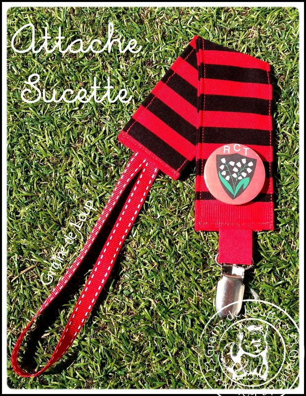 Attache Sucette & Badge RCT commande