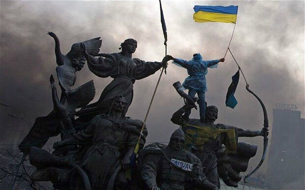 Can Ukraine fight back alone