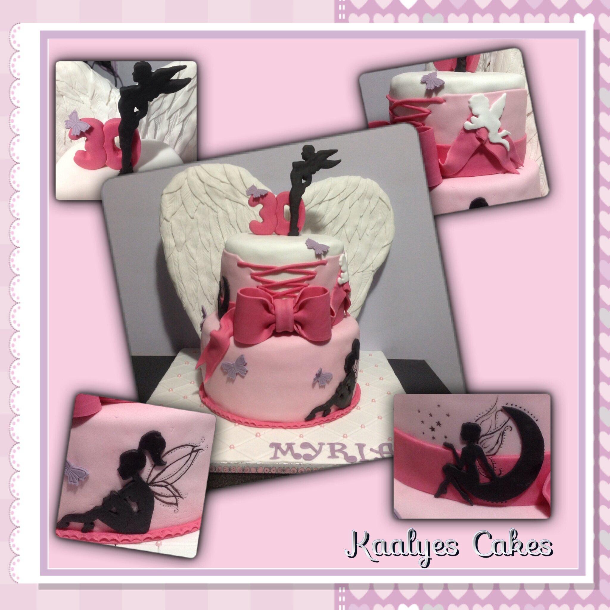 Gâteau fées et anges