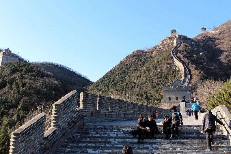 En route pour la Grande Muraille