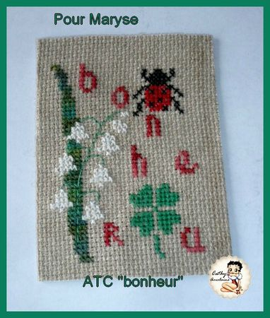 ATC bonheur-cathy pour maryse