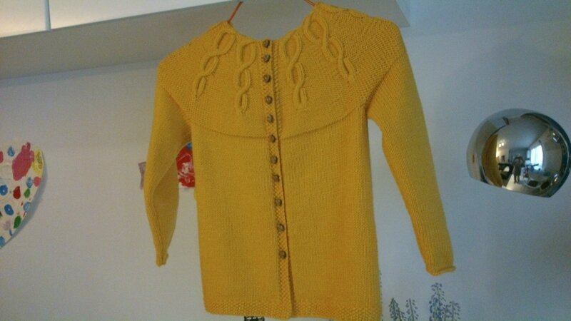 gilet miss Korrigan 6A Partner 3,5 coloris jaune (5)