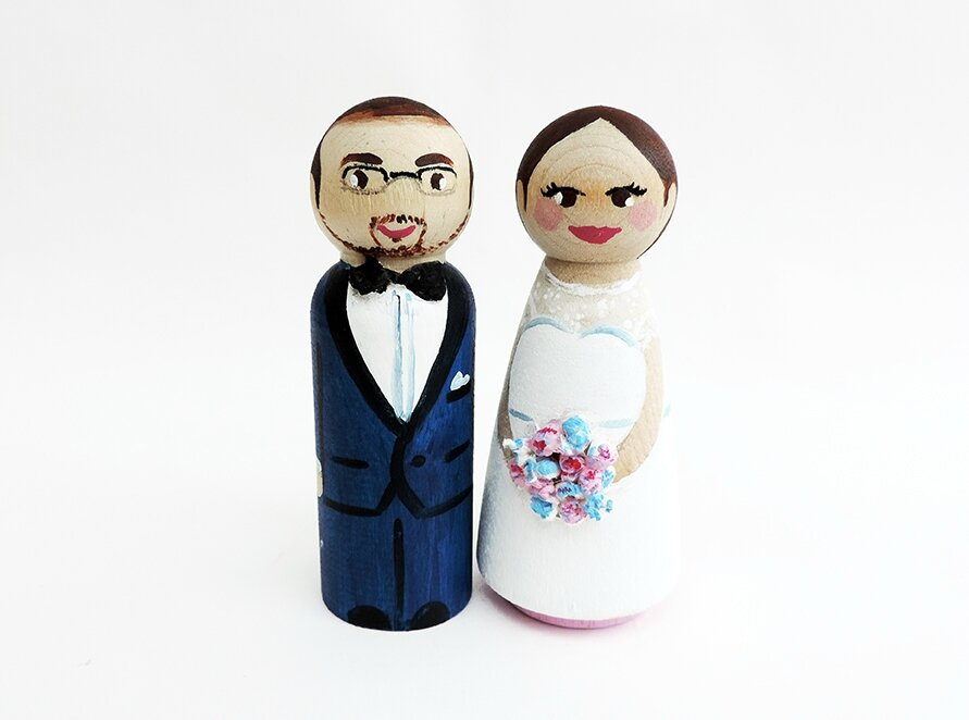 Wedding cake toppers personnalisée