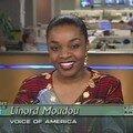 Sur le plateau de Health Living sur Voice of America