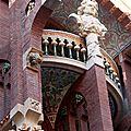 Barcelone -La Ribera, Palau de la Musica_5903