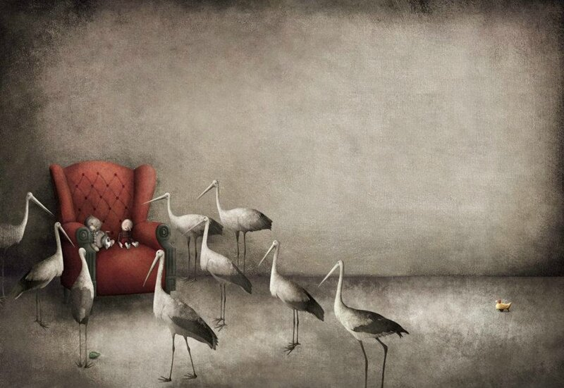 Gabriel Pacheco 1973 - Mexican Surrealist Visionary painter - Tutt'Art@ (57)