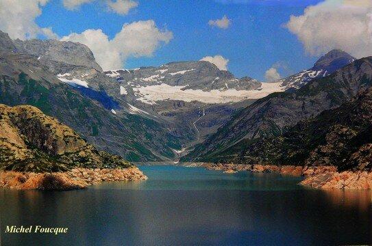 264) Rando vers barrage et lac d'émosson