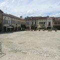 La Bastide-d'Armagnac, place royale