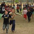 campamento escolar en Picarquín