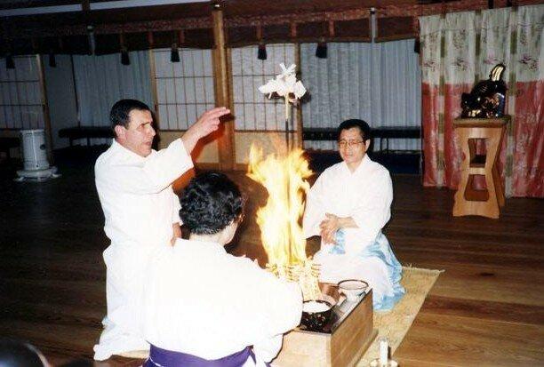 Goma_NakanishiSeiunSensei_KamioSan_1990