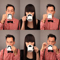 MOUSTACHE MUGS