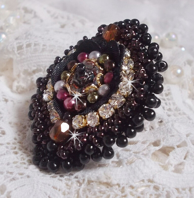 Bracelet Midnight Daisy 3-1