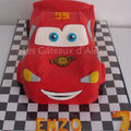 Gâteau cars flash mcqueen #4
