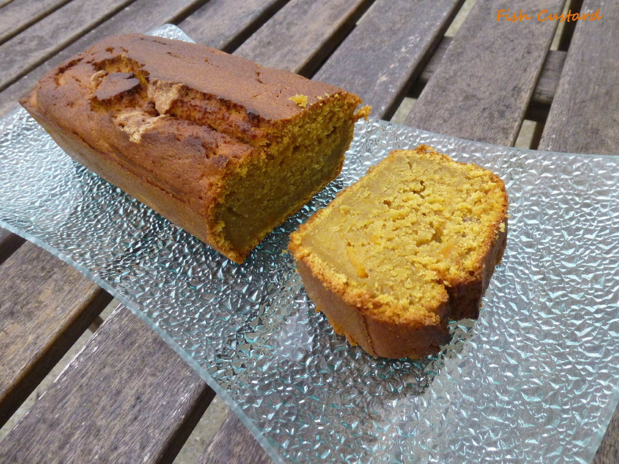 Pumpkin Bread (cake à la citrouille)